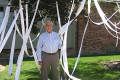 The day Bill's house in Bloomfield Hills got TP'd